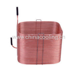 rolled condenser for refrigerator