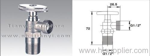 YIMISHA Brass Ball Core Angle Valve
