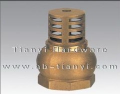 Brass Foot Valve
