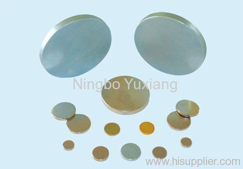 disc sintered ndfeb rare earth strong permanent magnet
