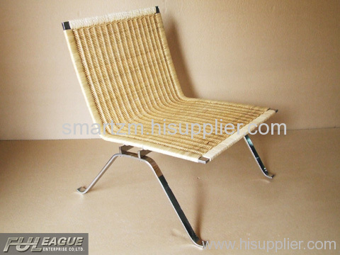 LOUNGE CHAIR, CHAISE LOUNGE CHAIR, NATURAL RATTAN CHAIR, LEISURE CHAIR