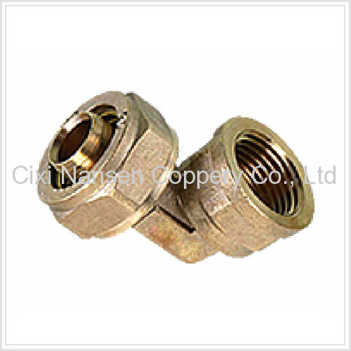 Brass Female Elbow Fitting