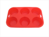 silicone muffin pan/bakeware/baking pan