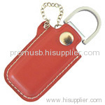 promotional leather usb flash drive