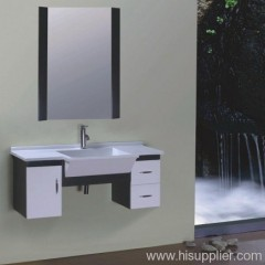 White PVC Bathroom Cabinet