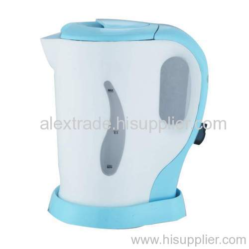 electric plastic kettle 1.0L