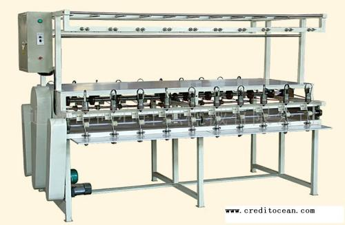 multi head rope knitting machine