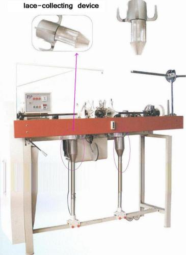 TW Series automatic lace tipping machine with collect device