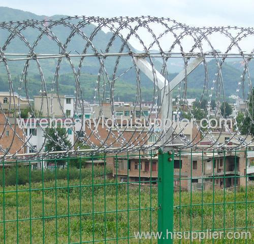Razor Barbed Welded Wire Mesh Fences