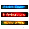 7*80 led message sign programme by remote