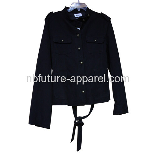 Black Canvas Jacket