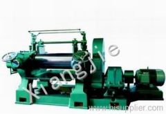 Open type mixing mill