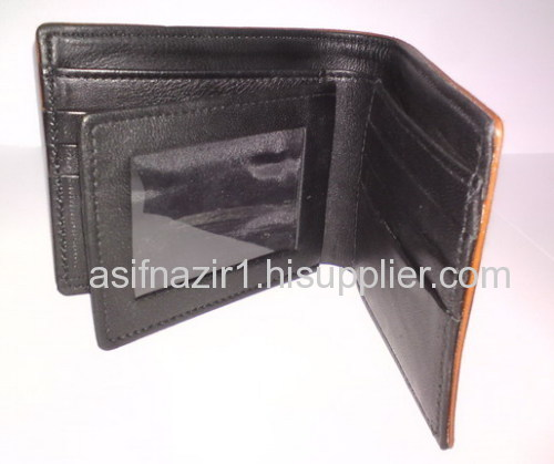Leather Wallets/ Men Leather Purse/ Neck Wallet/ Promotional Wallet