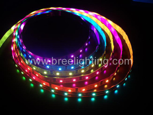 RGB led flash strip light