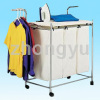 fold cloth rack with ironning board