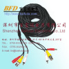 CCTV camera cable extension video cable BNC plug power