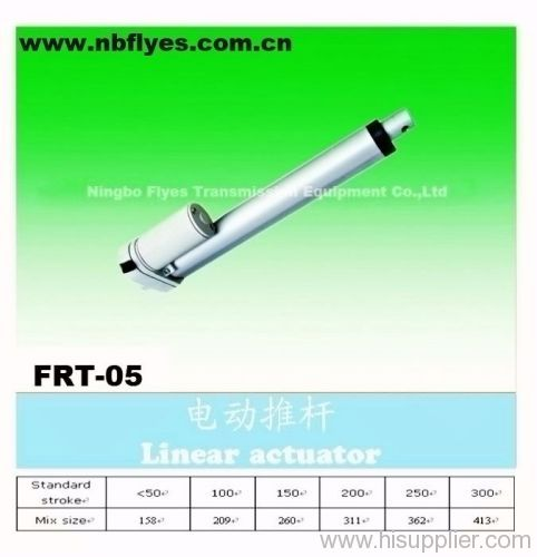 Electric linear actuator for furniture