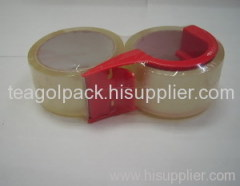 Bopp Packing Tape 2PCS Tapes +1PC Dispenser