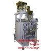 Weigher packaging machine combination