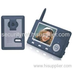 Wireless video door phone Kx3501 with remote unlock and portable monitor