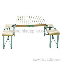 folding table with chair ,camping table ,outdoor table