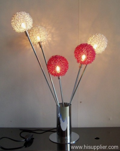 Removable Flower table lamp