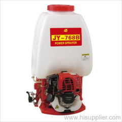 gasoline knapsack power sprayer