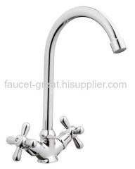 Two Handle Bathroom Kitchen Mixer