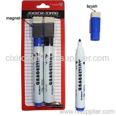 big dry eraser marker with eraser and magnet