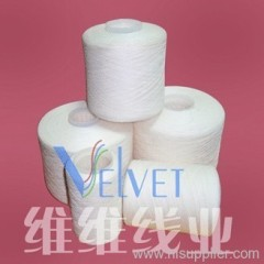cotton poly core spun yarn