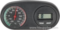 Car Thermometer and clock