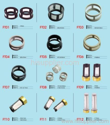 Injector filters