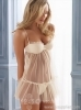 Tulle and satin babydoll