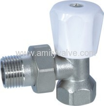 copper radiator valve