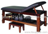 5in1 multifuntional solid wood massage bed, SPA massage bed