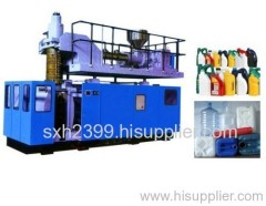 Auto blow moulding machine