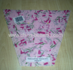 Printed flower sleeves/Flower sleeves/Bouquet sleeves/Flower bag