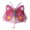 Cartoon Umbrella With Butterfly
