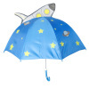 Cartoon Umbrella With Plane