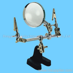 Auxiliary clip magnifier