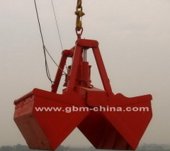 Electric Hydraulic Clamshell Grab