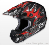 Safety for speed Red CL X6 Frenzy Helmet
