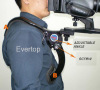 camera shoulder pad support