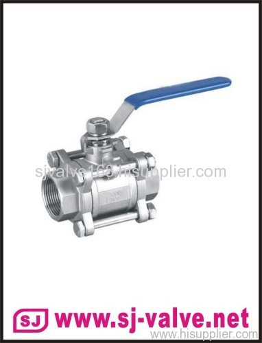 3pc ball valve,thread ball valve,ball valve
