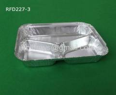 compartment aluminum foil containers