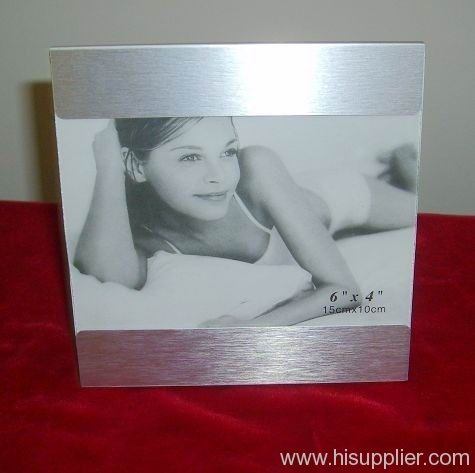 Aluminum photo frame, metal photo frame