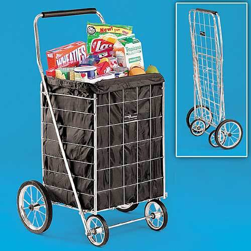Metal Folding Shopping Cart