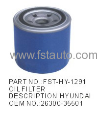 Car Oil Filters HYUNDAI