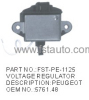 PEUGEOT CAR VOLTAGE REGULATOR