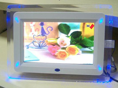 7 inch TFT LED backlight LCD digital photo frame
